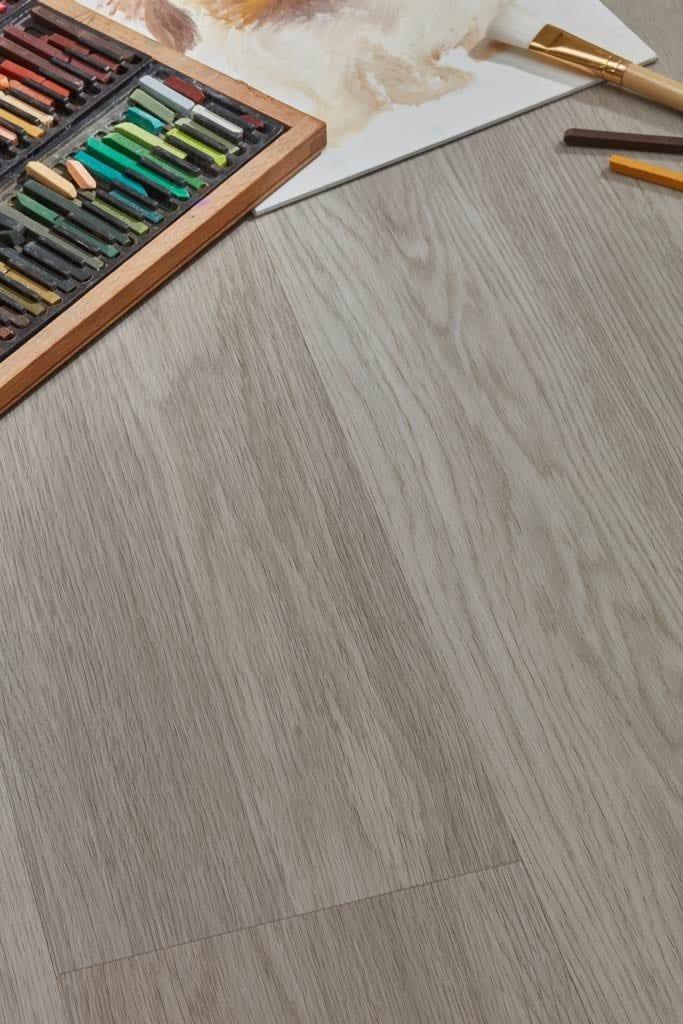Grey Hybrid Plank Floor